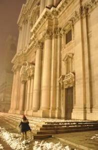 Facciata del 'Duomo Nuovo' di Brescia