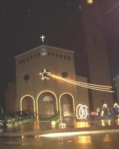 La chiesa del paese nuovo.