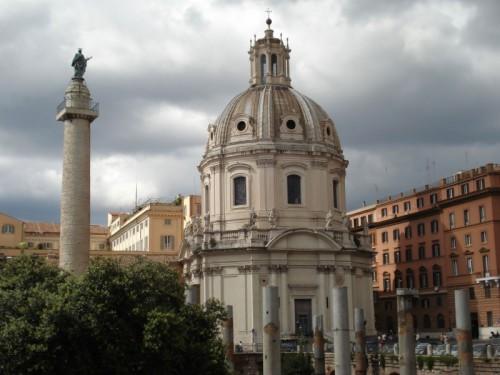 Roma - Basilica Ulpia e la Colonna di Traiano