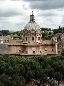 Chiesa dei Santi Luca e Martina-Roma