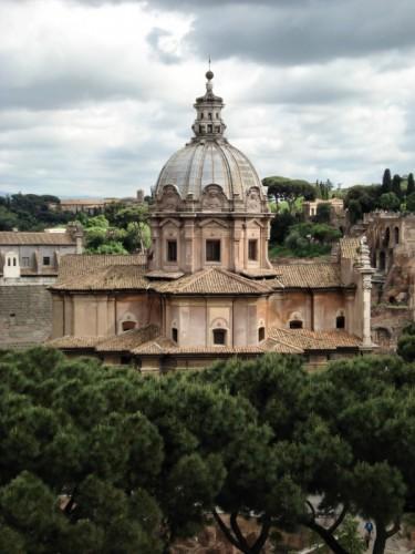 Roma - Chiesa dei Santi Luca e Martina-Roma