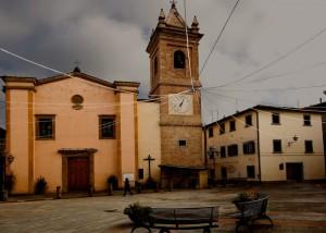 La chiesa di Montaione