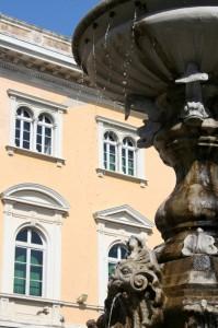 fontana del comune di Alassio