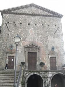 Facciata esterna Chiesa Maria Santissima della Visitazione