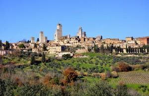 Duomo di San Gimignano e città