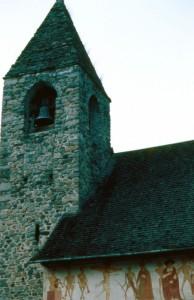 Particolare della chiesa di San Vigilio a Pinzolo