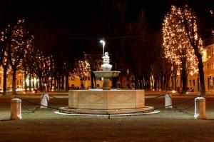 la fontana di piazza tebaldo