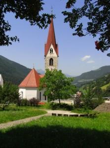 Chiesa di Luson (nei dintorni di Bressanone)
