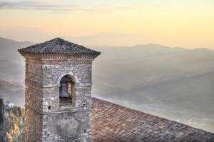 Il campanile della chiesa Maria Santissima della Visitazione