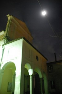 San Tommaso e la luna