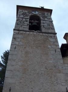 campanile della chiesa di Prata