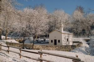 chiesetta dedicata a San Giovanni battista  ,in San Vito di Valdobbiadene