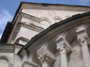 Particolare del Duomo di Carrara