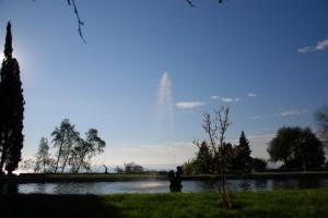 Fontana del Castello di Duino: acqua su acqua