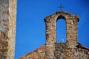 Basilica dell'Assunta: il romanico e la luna