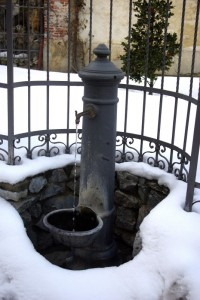 Fontana d'ottone