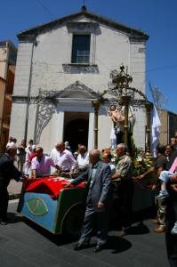 la chiesa e la macchina di san gaetano