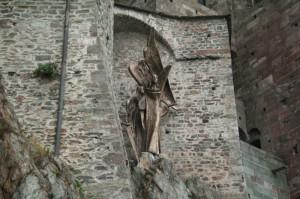 dettaglio della sacra di San Michele