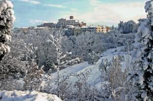 Cigoli dopo la nevicata