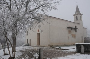 Gelo e nebbia a Massimbona