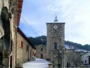 Tre rintocchi dall'antico campanile della chiesa di San Martino in Agne