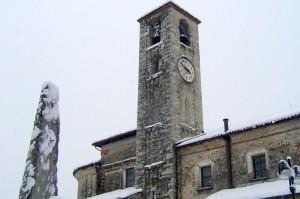 campanile romanico della chiesa parrocchiale