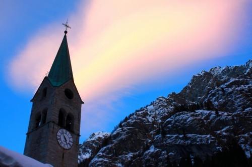 Aosta - San Giovanni e l'aurora