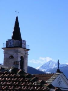 Chiesa Sant'Anna di Collarea tra Cielo e Alpi