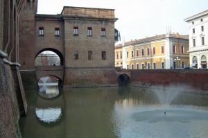 Fontane nel Castello Estense