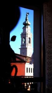 Scorcio sul Campanile del Duomo.