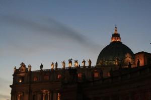 Santi al tramonto