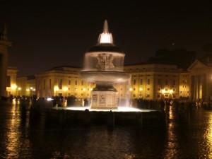 Fontana di Piazza San Pietro 2