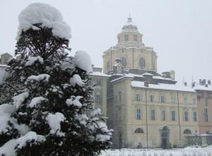 Chiesa di San Lorenzo sotto la neve….