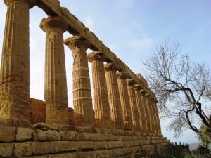 il tempio di Giunone Lacinia