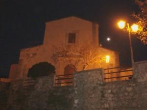 San Giovanni Battista  sotto la luna