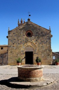 Chiesa di Monteriggioni