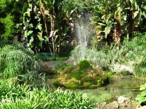 fontana della villa comunale di salerno
