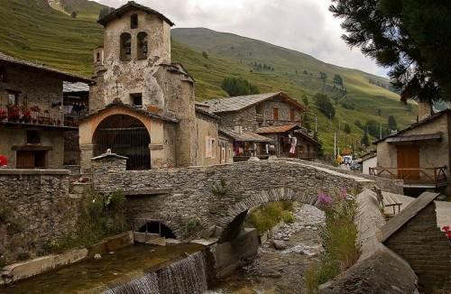 Pontechianale - Antica parrocchiale di Sant'Antonio