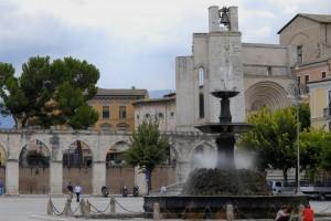 Fontana di Piazza Garibaldi a Sulmona