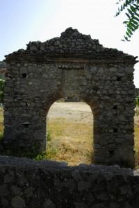 Portale della chiesa dell'Annunziata di Guardavalle