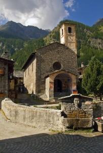 Chiesa di San Lorenzo e fontana