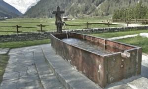 Fontana in ottone