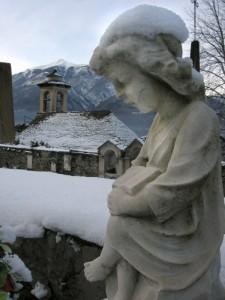 Angelo custode…del silenzio…   S. Lorenzo  -  Cosasca