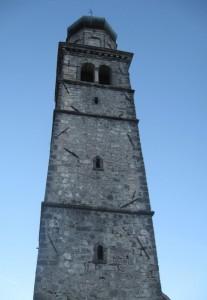 Campanile della Pieve di S.Pietro - Zuglio