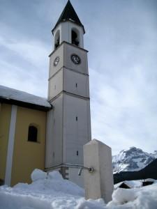 La fontana e la chiesa
