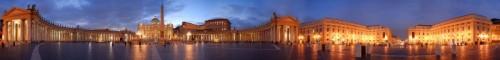 Roma - Piazza S.Pietro a 360°