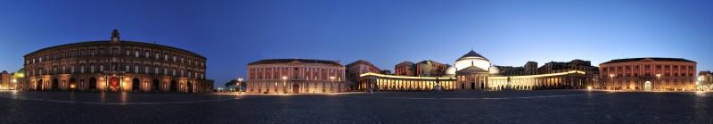 ''Piazza del Plebiscito a 360°'' - Napoli