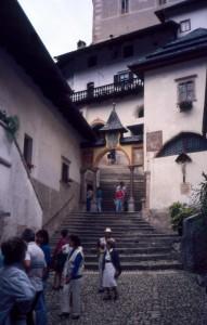 Particolare del Santuario di San Romedio in Val di Non
