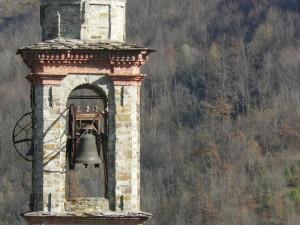 Campanile della Chiesa di S.Pietro, Dezza di Bobbio