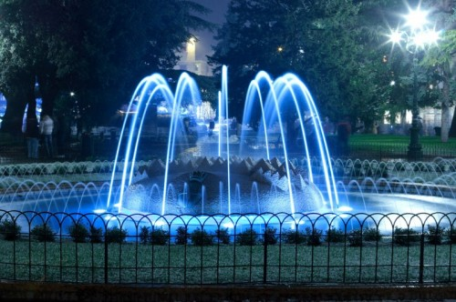 Verona - fontana piazza bra